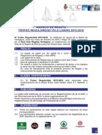 Anuncio de Regatas Regularidad 2015-16
