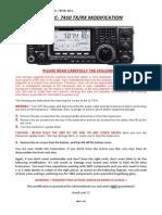 Icom Ic-7410 TX Rx Mod