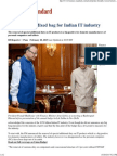Budget 2015 - Mixed Bag for Indian IT Industry