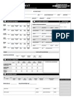 D&D 3.5 Character Sheet - Fill In