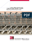 Study Report on Capturing Recall Costs