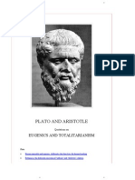 Plato and Aristotle on Eugenics and Totalitarianism