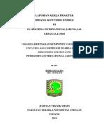 Laporan KP Petrochina Ridho Rivaldo 1010912016