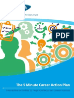 The 5 Minute Career Action Plan