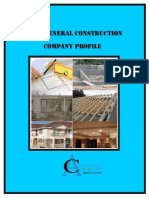 AGUS GENERAL CONSTRUCTION PROFILE