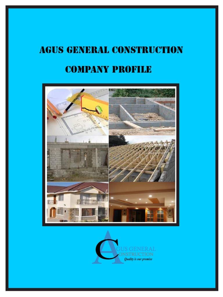 AGUS GENERAL CONSTRUCTION PROFILE   Procurement   Business