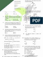 UPMT Sample Papers 4 Uttarakhand Pmt Physics Solved Paper 2007