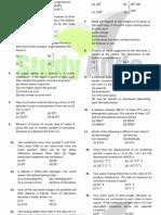 UPMT Sample Papers 5 Uttarakhand Pmt Physics Solved Paper 2008