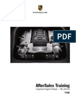 AfterSales Training - Cayenne Engine Repair ТАУ V8 and V6