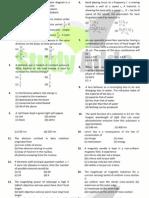 UPMT Sample Papers 6 Uttarakhand Pmt Physics Solved Paper 2009