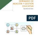 Planeacion y Gestión Educativa.