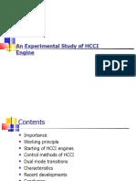 Homogeneous Charge Compression Ignition HCCI Engine-presentation