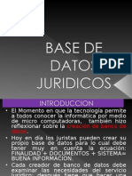 BASE DE DATOS JURIDICOS.ppt