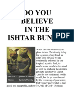 Do You Believe in the Ishtar Bunny?