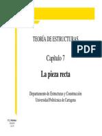 Capítulo 7 TE - La Pieza Recta