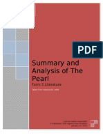 Summary and Analysis of the Pearl