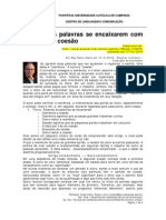 Artigo do Poynter Institute sobre coerência de texto - tradução minha