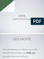 Einführung HTML