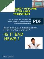 Liver Transplantation and Pregnancy