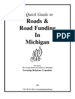 A Quick Guide to Roads & Road Funding in Michigan