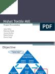 Nishat Project FSA-Presentation