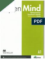 Open Mind Elementary - Teacher's Book