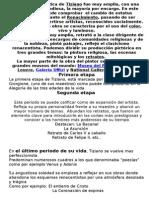Tiziano Obra