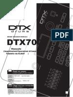 Manuale Dtx 700 k Ita