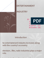 indian entertainment  industry