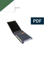 Manual Para La Calculadora