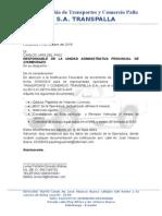 Carta Reingreso Ic-1