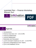 Finance Workshop 2008
