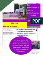 LEJA October 2015 Newsletter