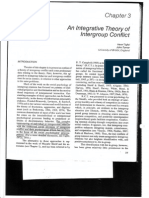 An lntegrative Theory of lntergroup Conftic