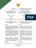 Regulation No. 5 of 2015 Indonesia Location Permit