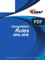 iaaf competition rules 2014-2015