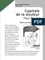 Capitale De La Douleur Analyse De Texte Sonnets Poésie