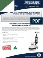 Floor Sander for Sale