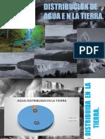Distribucion Del Agua en La Naturaleza