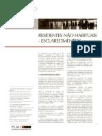 Residentes Nao Habituais - PLMJ