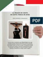 Imagen de Cristo en Sta Teresa de Jesús