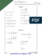 Add Math Spm Trial 2015 Pahang p1ans