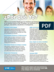 Spanish Membership Flyer