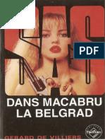 082. Gerard de Villiers - [SAS] - Dans Macabru La Belgrad [v.1.0]
