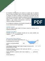 calculos relacionados a la energia de flujo