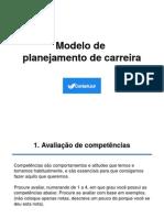 Modelo Planejamento de Carreira