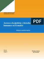 Acceso a La Justicia Ecuador 2009