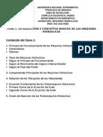 Introduccion y Conceptos Basicos Maquinas Hidraulicas