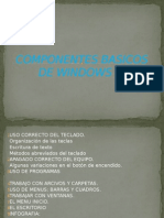 Componentes Basico de Windows 7