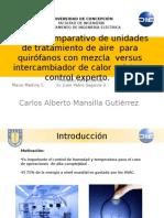Estudio Comparativo de Unidades de Tratamiento de Aire